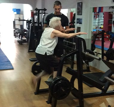 Personal training for people over 60
