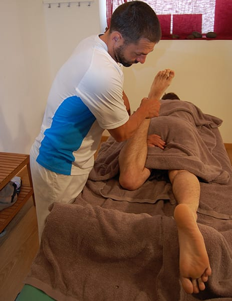 Muscle Tension Buster & Stretching Massage