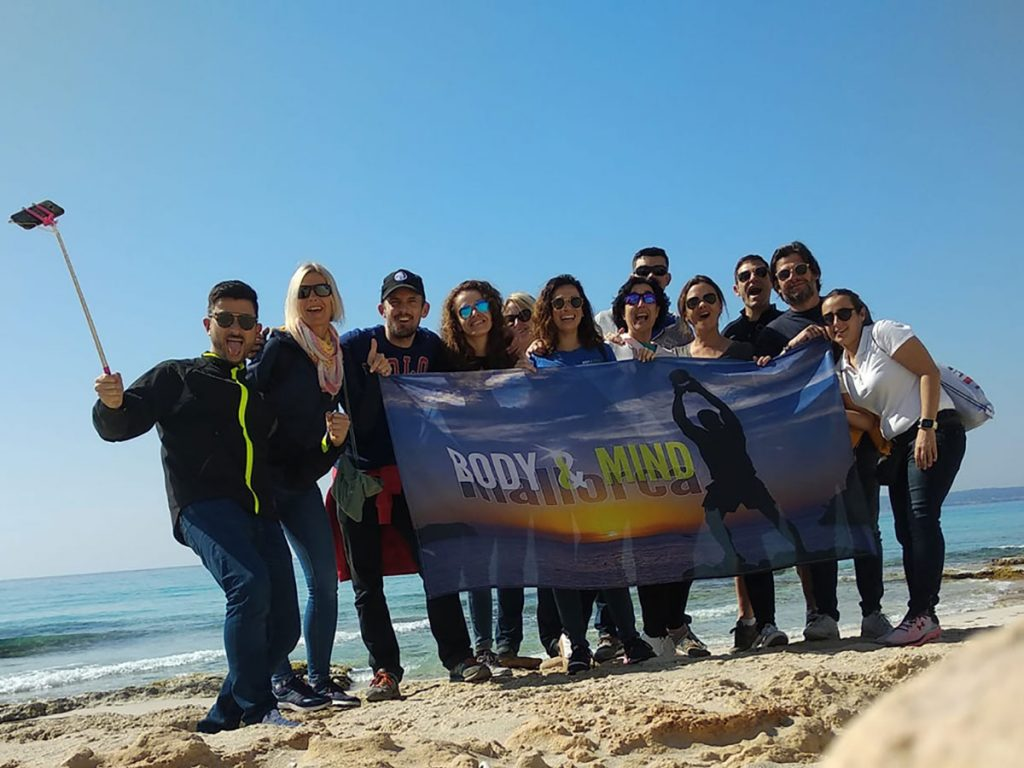 Body And Mind en la VIII Formentera All Round Trail