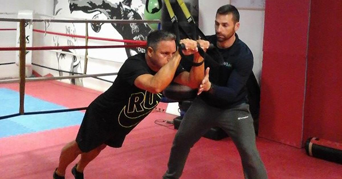 entrenador TRX Calviá