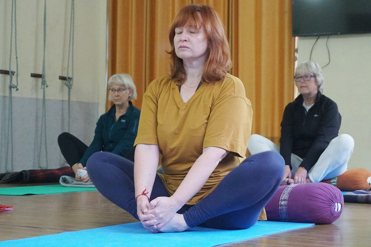 stretching for older people